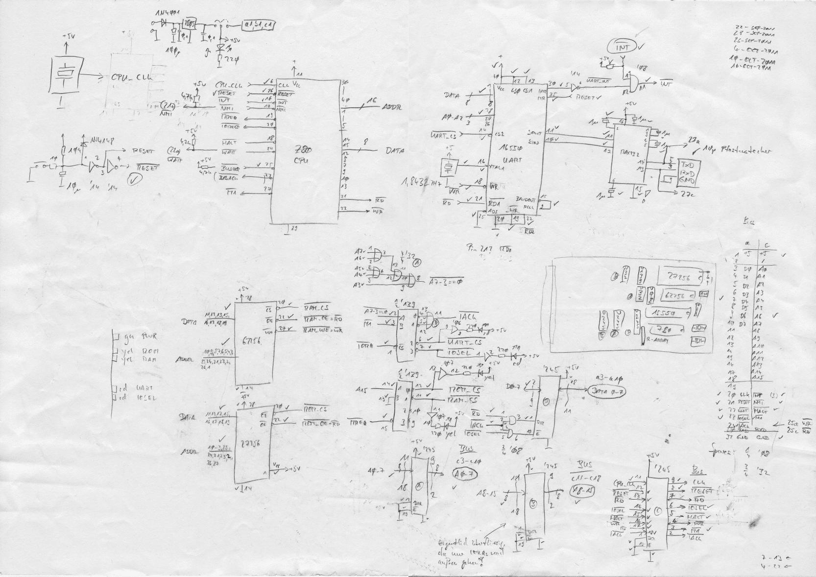 ttl cpu schematic